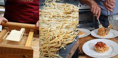 Food Meditations... Travel Bites: Spaghetti alla chitarra | Project iTravelAbruzzo