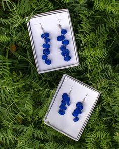 Vuono and Hilpu earrings by Oikku Design Enamel, Earrings, Accessories, Design, Ear Rings, Vitreous Enamel, Stud Earrings, Ear Piercings