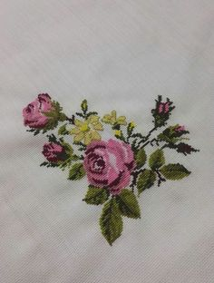 This Pin was discovered by nur Cross Stitch Embroidery, Hand Embroidery, Cross Stitch Patterns, Free To Use Images, Embroidery Fashion, Bargello, Cross Stitch Flowers, Pixel Art, Needlepoint