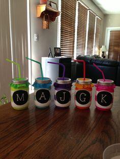 mason jars :)