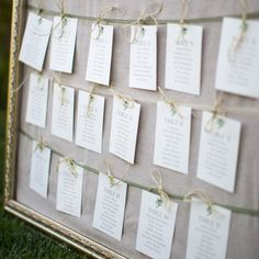 Table Assignments with twine