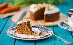 Vegán répatorta recept Vegan Cake, Vegan Desserts, Cyprus Food, Carrot Cake, Christmas Nails, Yummy Cakes, Banana Bread, Carrots, Cheesecake