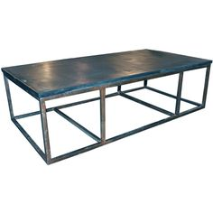 Noir Stone Coffee Table with Metal ($1,830) ❤ liked on Polyvore featuring home, furniture, tables, accent tables, transitional coffee table, transitional furniture, slab table, metal accent table and stone cocktail table