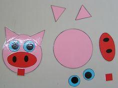 Petite Section, Grande Section, Maths Eyfs, Eyfs Activities, Album Jeunesse, French Class, Three Little Pigs, Kids Cards, Art For Kids