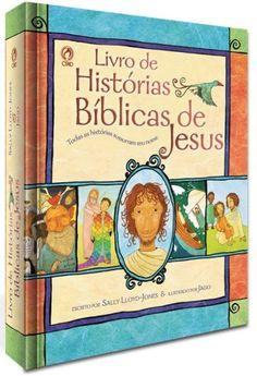 Foto principal do produto Livro de Histórias Biblicas de Jesus