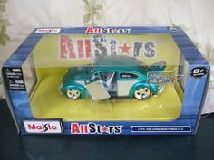Volkswagen Beetle 1:24  MAISTO ALLSTARS - HARD TO FIND