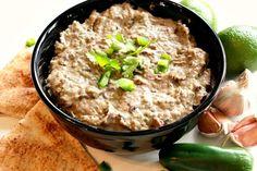 Vegan black bean dip, black bean hummus