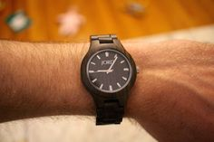 Tim is loving his #jordwatch! Come check out our review of this wooden watch on DoyleDispatch.com: http://doyledispatch.com/blog/2015/05/11/jord-wood-watch-review/