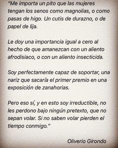 Oliverio Girondo, poema.