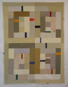 """It has been many months since I've made a quilt. I finished piecing """" Holiness """" in March, 2016, and then worked on a couple of o..."""