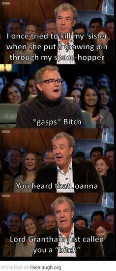 You heard that Joanna? #TopGear