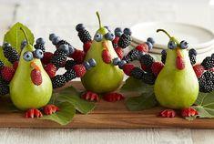 Pear Turkeys
