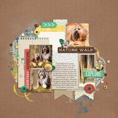 4 photos + journaling + center