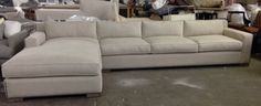 version of Restoration Hardware Collins sectional...need  smaller size