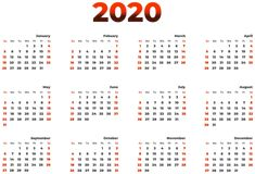 2020 Calendar Transparent Image Calendar Pictures, 12 Image, First Birthday Invitations, S Mo, High Quality Images, Design Elements, Clip Art, Gallery, Chen