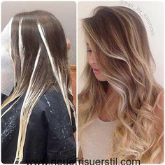 Are you going to balayage hair for the first time and know nothing about this technique? We've gathered everything you need to know about balayage, check! Ombre Hair Color, Hair Color Balayage, Hair Colors, Bayalage, Balayage Highlights, Ombré Hair, Blonde Hair, Sombre Hair Brunette, Hair Color Techniques