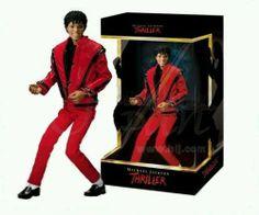 "Michael Jackson Thriller Doll Figure 10"" Rare Limited Edition BNIB Collector - http://www.michael-jackson-memorabilia.co.uk/?p=7715"