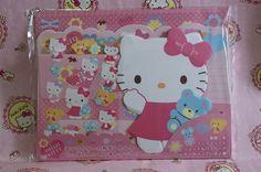 Sanrio Hello Kitty Envelopes Letter Set Stickers 2011