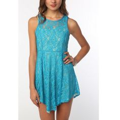 Thistlepearl Lace Rarcerback Dress