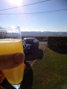 Sun makes rare appearance in England shocker. Have a nice Easter everyone. I'm on the bucks fizz.