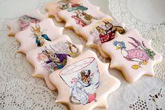 Beatrix Potter Baby Shower Cookies