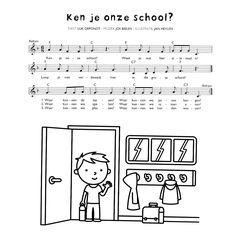 """Liedje """"Ken je onze school?"""""""