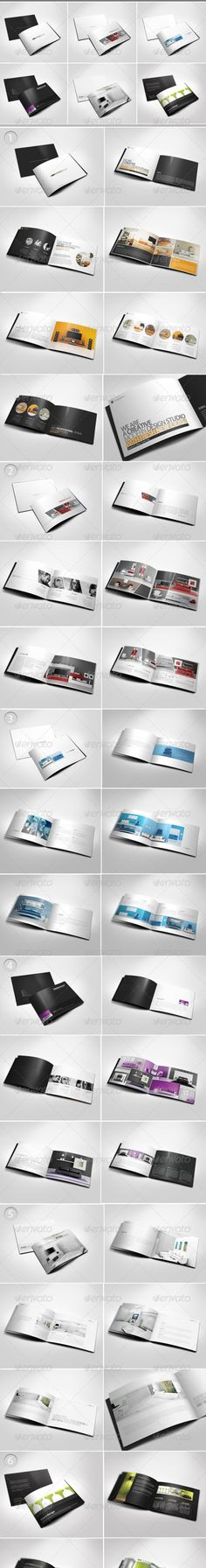Professional Company Profile Brochure Template Brochure template - booklet template free download