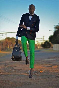 Dear Whoever Is In Charge Of Men's Fashion: Cut this kind of silliness out. Classic men don't have time or reason for it.