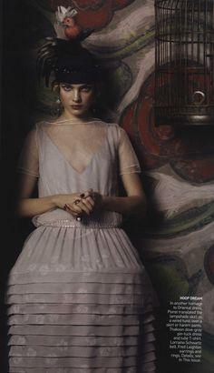 Poiret inspired, Vogue 2007