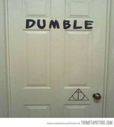 I see what you did there. ;) #HarryPotter