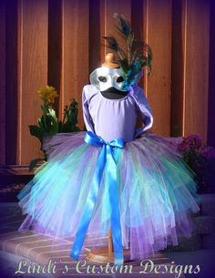 Peacock Masquerade Tutu Costume & 9 best Pre-prom images on Pinterest | Mask party Masquerade party ...