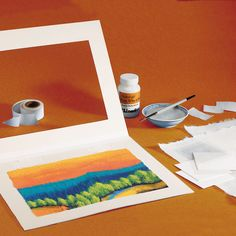 Museum Mounting Kit from Lineco, contains wheat starch adhesive, heavy weight mulberry paper, linen tape, a blotter, a polyester sheet and complete instructions. #archival #framing #mat Framing Supplies, Kit, Warm Coat, Info, Museum, Coupons, Tape, Arts And Crafts, Kids Rugs