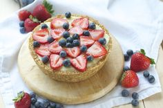 Since tomorrow is the 4th of July, I created a patriotic summer treat that is festive and of course fruity. By fruity, I mean this pie is almost nothing but fruit! I like to call this a smoothie pie because the filling is similar to a smoothie, but thicker. The longer you let it freeze,...