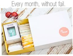 Periods suck, period. Le Parcel has created a mini-care package for delivery once a month, every month!