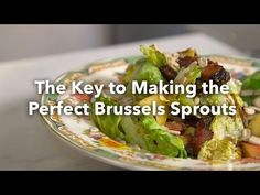 The Key to Making Perfect Brussels Sprouts - YouTube