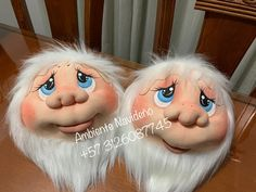 Christmas Crafts, Christmas Decorations, Making Dolls, Body Parts, Character, Baby Dolls, Xmas, Craft, Painted Faces