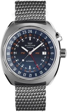 Glycine Watch Airman Base 22 Mystery GMT 3887.99.TB99 Watch