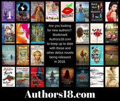 My fellow 2018 debut authors and their amazing books!