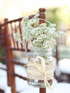 5 tipos de flores para decorar una boda rústica