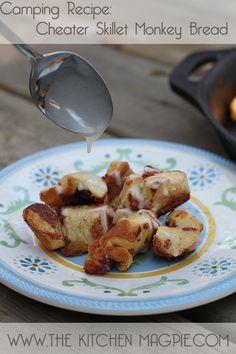 Camping Recipe: Cheater Skillet Monkey Bread