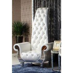 Divani Casa Luxe D6032-Neo-al Eco-Leather Leisure Chair VGKND6032-ECO