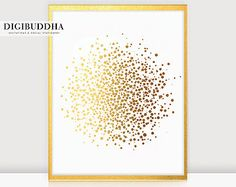 Wanderlust World Map GOLD FOIL PRINT 8x10 or by digibuddhaPaperie