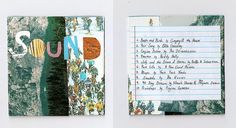 Add order to a wild-looking pattern. | 16 Cool Ideas For Homemade Mix CD Artwork