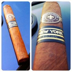 Montecristo New York Connoisseur Edition Cigar Cigars And Whiskey, Good Cigars, Pipes And Cigars, Cigar Smoking, Smoking Pipes, Montecristo Cigars, Cigar Reviews, Cigar Art, Premium Cigars