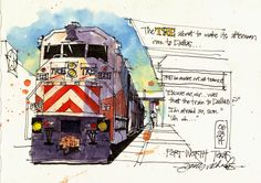 James Richards - Freehand Drawing & Discovery - UTA Architecture Professor
