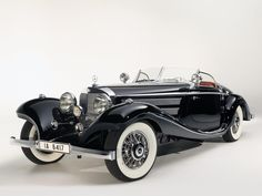 1936 Mercedes-Benz 540k Spezial Roadster.