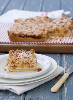 ... recipes food nectarines crumbl slice nectarin crumbl almond crumbl