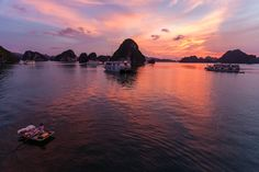 Halong Bay sunset, Vietnam by Gil Kreslavsky, via 500px