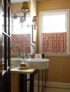 really like this window treatment idea privacy without losing light