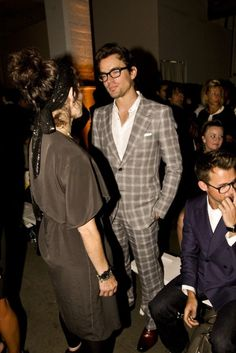 Matt Bomer. Looove that suit.